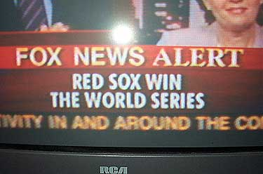 Red Sox win World Series