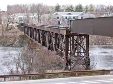 Old Railroad Trestle in Manchester,NH